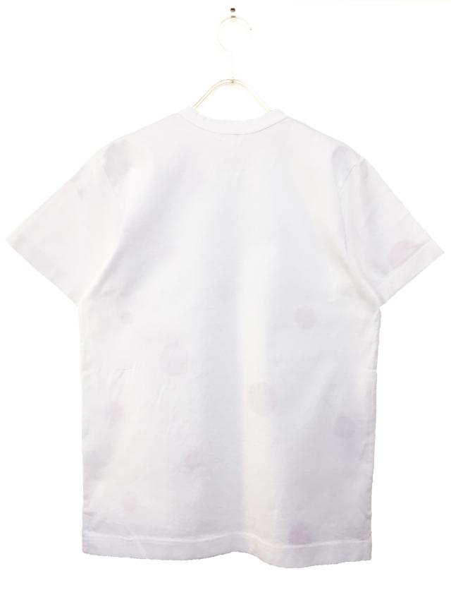 ユニセックス、Tシャツ、半袖、ドット、プリント