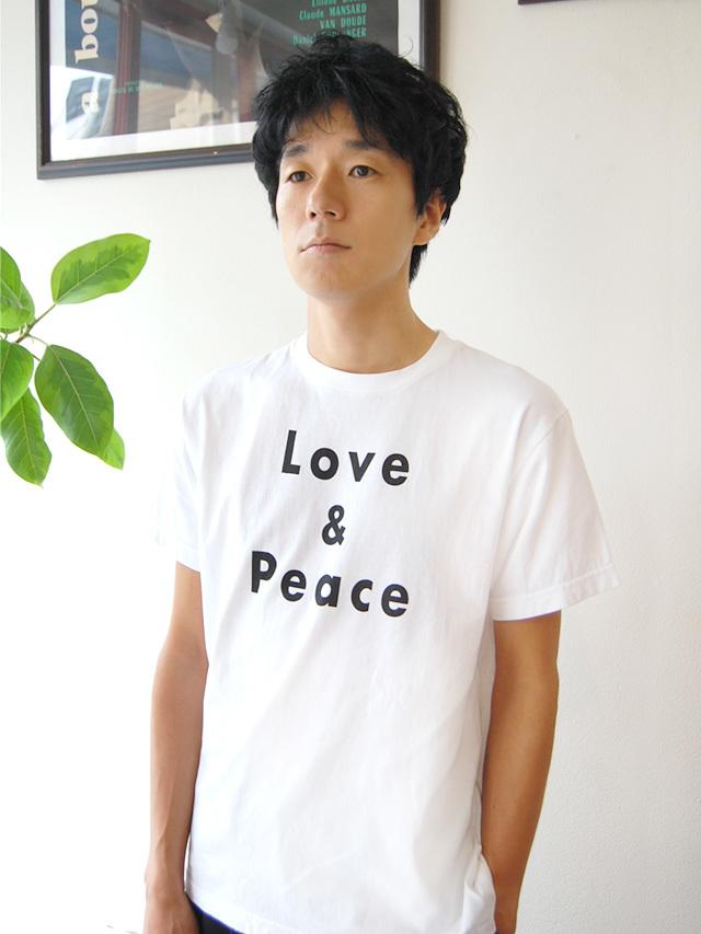 17/-天竺 LOVE&PIACE Tシャツ