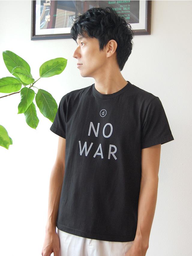 17/-天竺 NO WAR Tシャツ