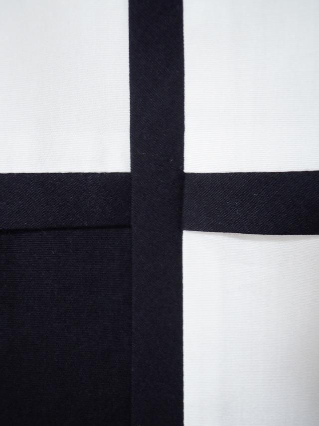 ブロード,綿,メンズシャツ,切替,パイピング