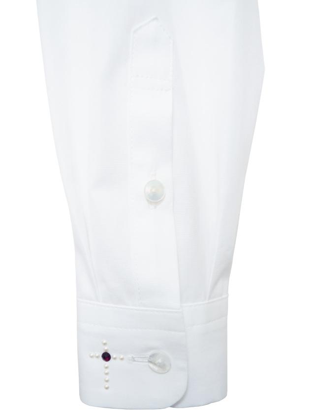 メンズ、シャツ、クロス、スワロフスキー、長袖