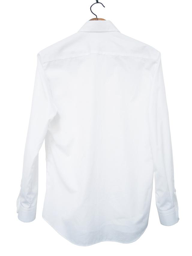 シャツ、プリント、長袖、ユニセックス、ドット