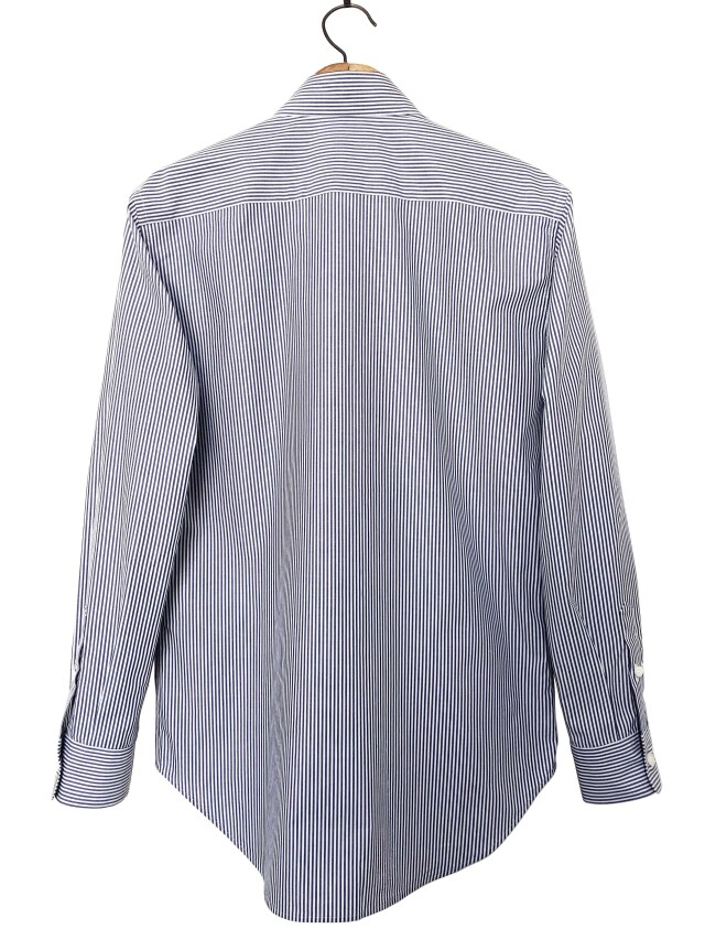 シャツ、ブロード、プリント、メンズ、ストライプ