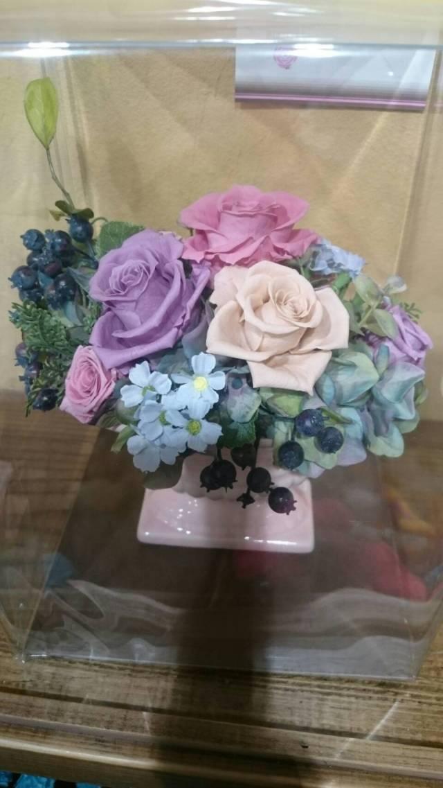 【枯れない花】ブリザーブドフラワー母の日のプレゼントに