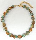 トルコ石 ミックス デザイン ネックレス