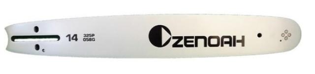 【お取り寄せ】ゼノアチェンソーガイドバー SPバー14インチ 325ピッチの.058ゲージ 適合ソーチェン:21BP-60E