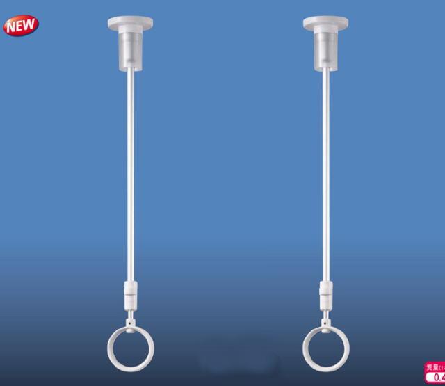 キョーワナスタ 部屋干し金具 (天吊りタイプ) KS-DA104A 2本組販売