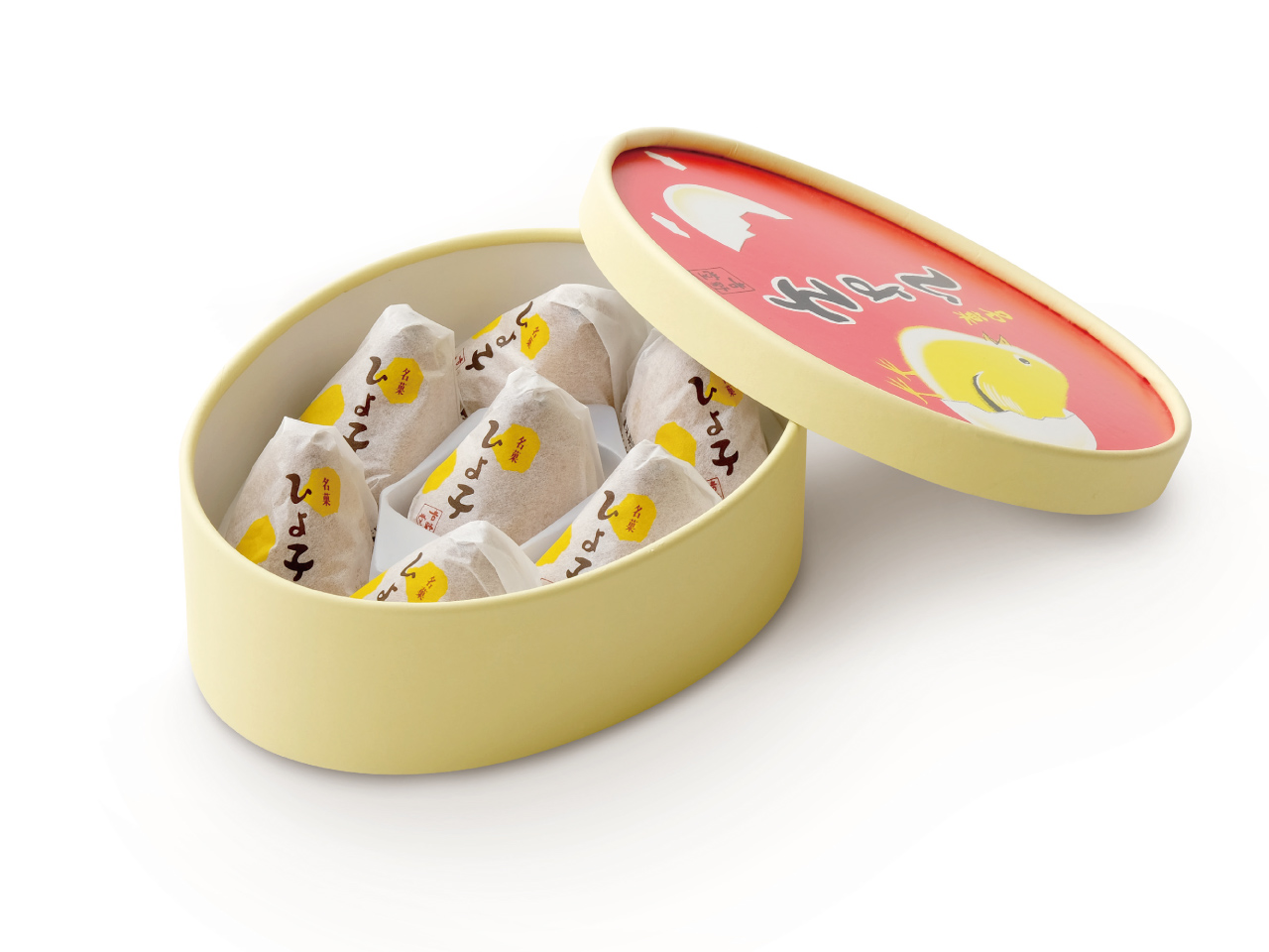名菓ひよ子 7個入丸箱