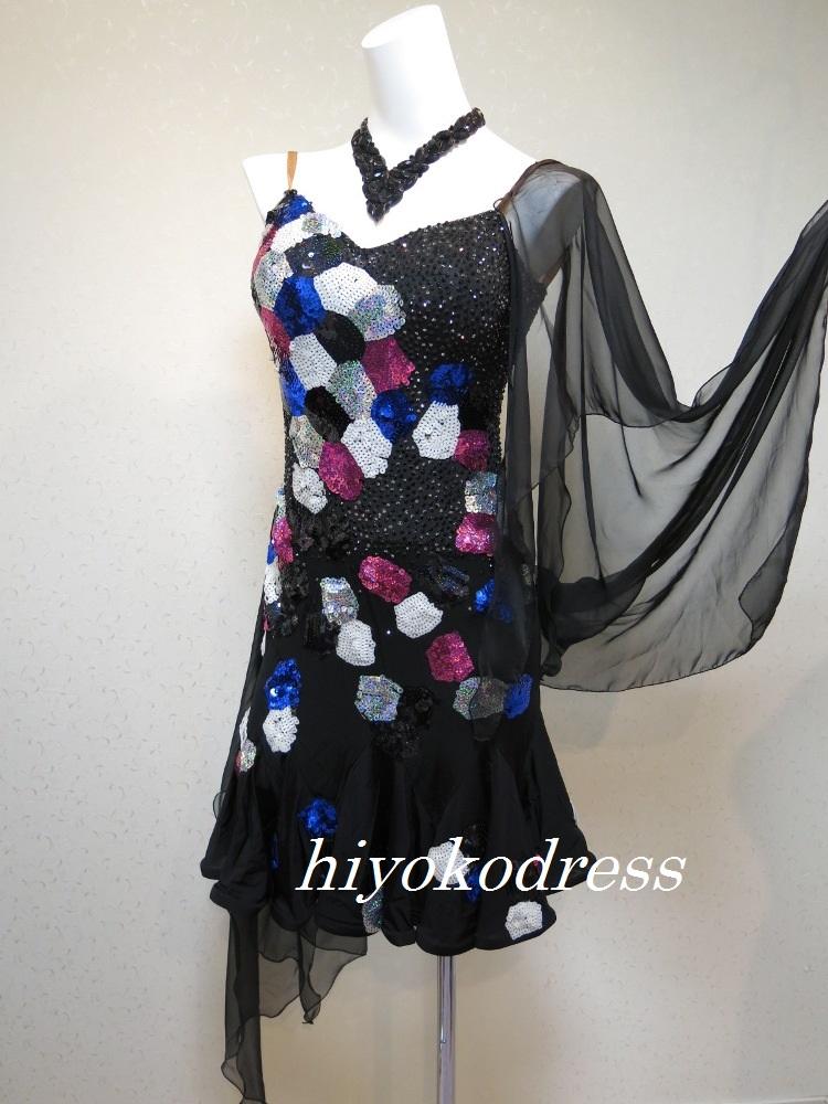 L1100 ジャンティ製の黒ドレス