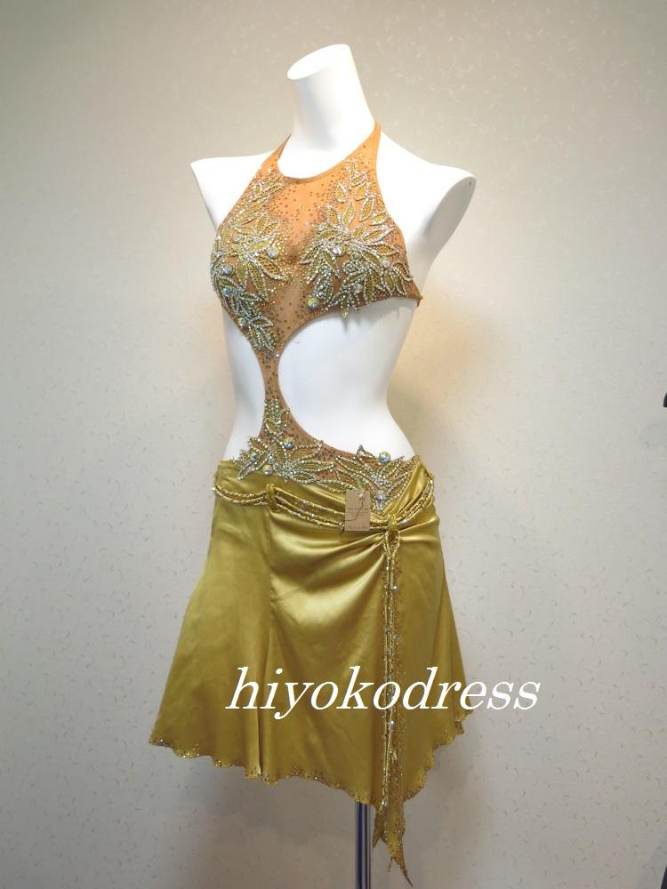 L989DSI製 ゴールドラテンドレス