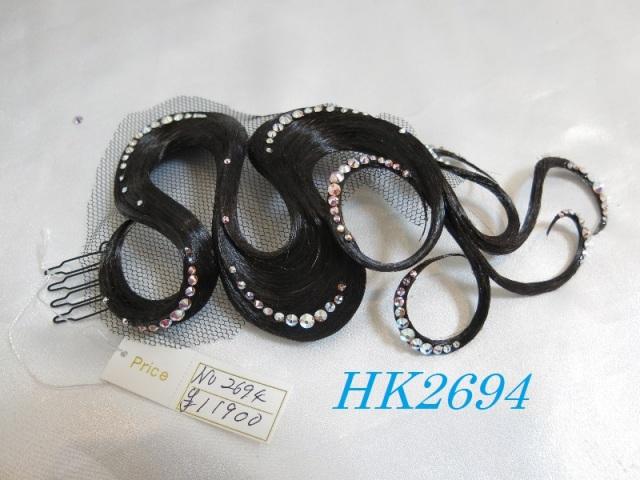 HK2694 ひよこオリジナルヘアアクセサリー