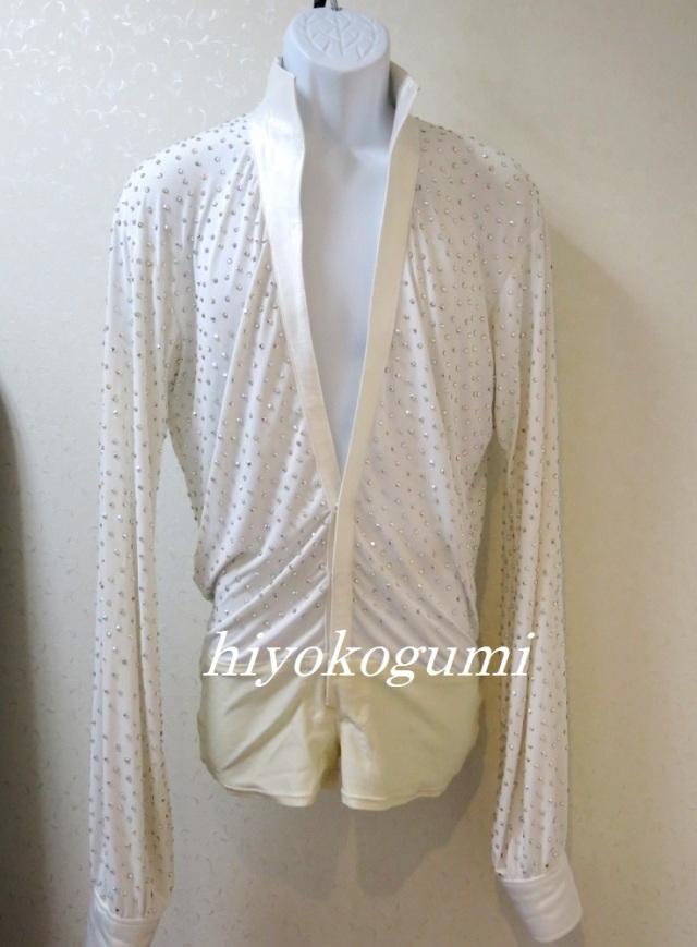 L966 メンズ衣装 ヤナギダ製 白