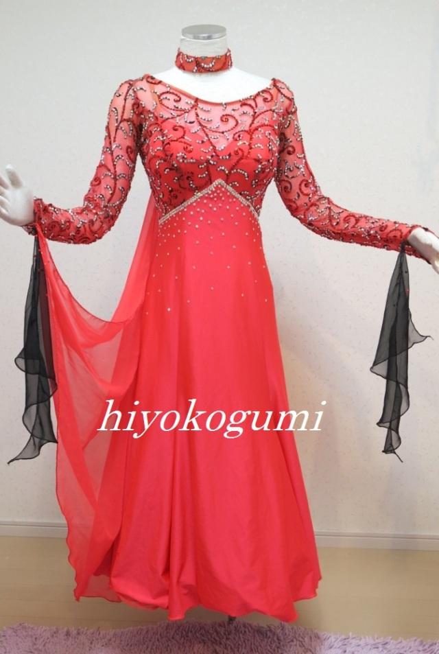 M960 赤スタンダードドレス