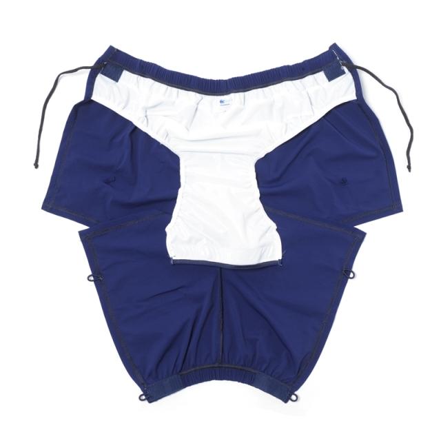 障害児、医療的ケア児用、着替えやすい水着。水泳、プール、療育、リハビリ。