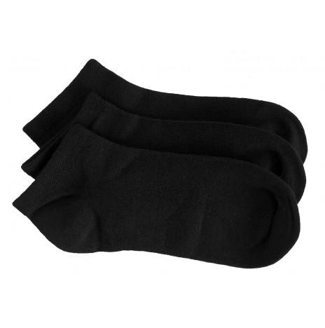 感覚過敏、触覚過敏に対応したシームレスソックス。子供用靴下。スニーカー、ブラック。