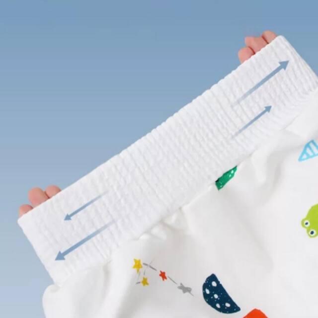 おねしょや漏れからお布団をカバーする、防水タオルスカート。介護用防水シート。ウエスト