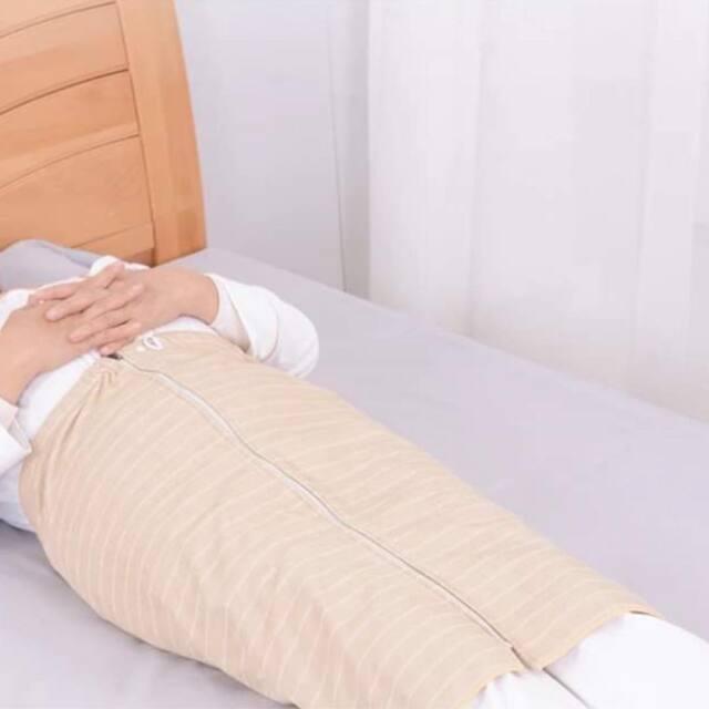 介護用、オムツ漏れ対策スカートタオル。