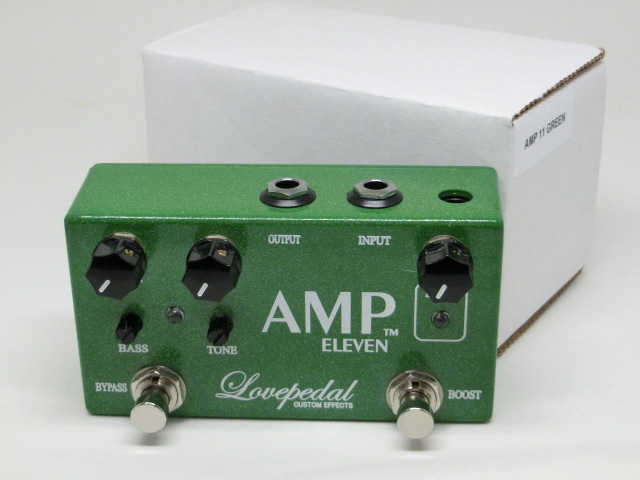 Love Pedal「AMP ELEVEN GREEN(限定カラー)」(USED)(0010-425)