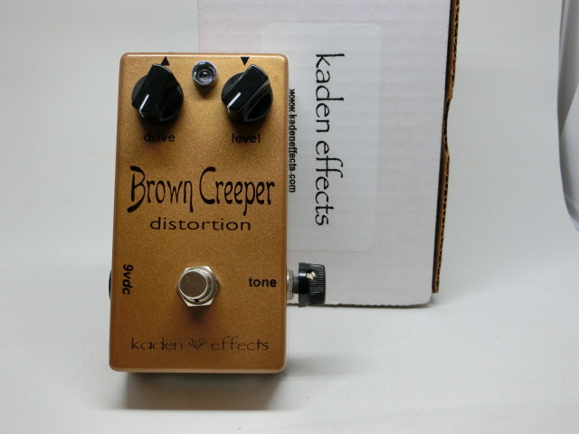 Kaden Effects「Brown Creeper Distortion」(USED)(0010-414)
