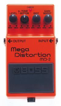 BOSS「MD-2Mega Distortion」