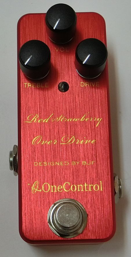 One Control 「Strawberry Red  Over Drive」【再入荷待ち!!】(0001-127)