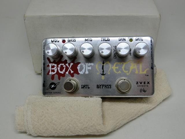 Z.Vex 「Box of Metal」(USED)(0010-440)