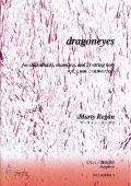 楽譜 dragoneyes─尺八、三味線、21絃箏のための(尺八都山式)[5450-2]