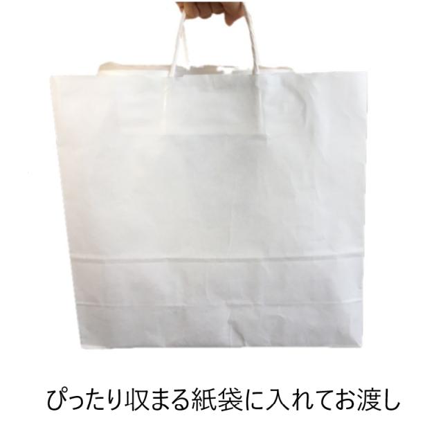 白無地紙袋の白檀です