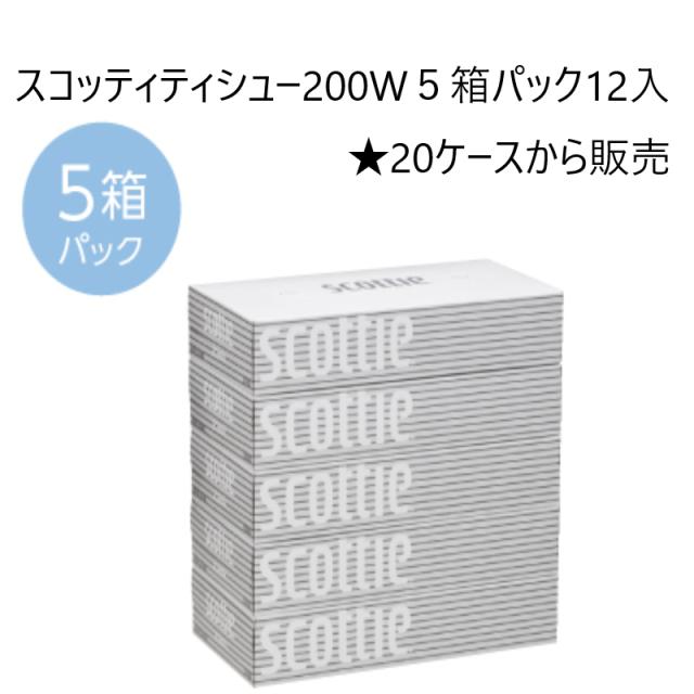 スコッティティシュー200W大量販売です