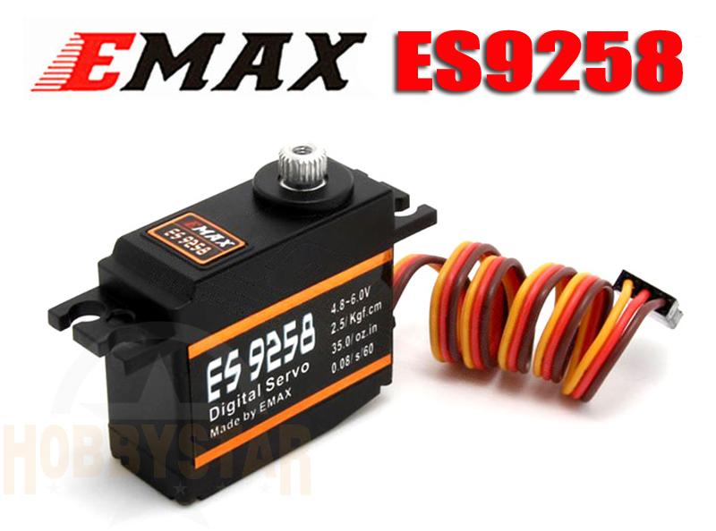 EMAX ES9258 デジタル ミニサーボ メタルギア テールサーボ