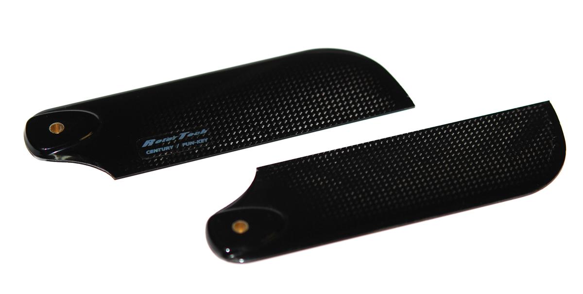 Fun-Key 550/600サイズ用 テールローター カーボン製 Rotor Tech (ローターテック)