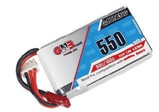 KINGKONG ET115/ET125用 Lipo バッテリー 2S 550mah 80C