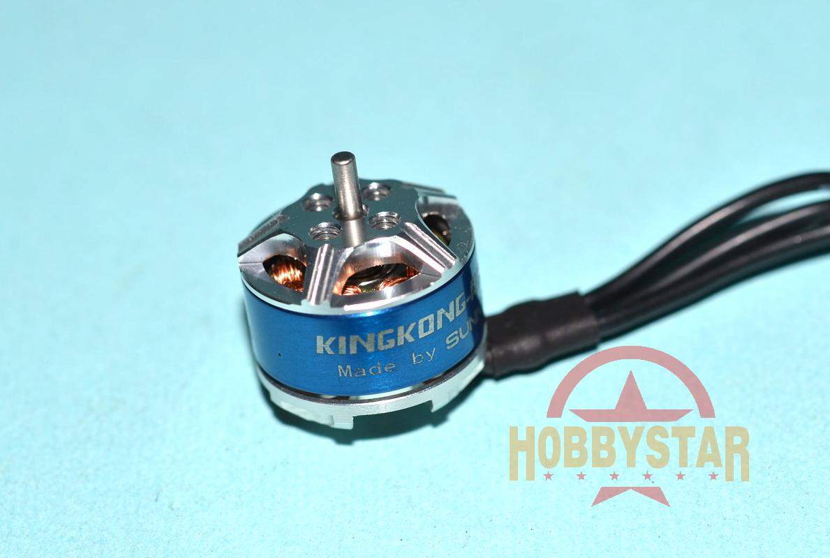 KINGKONG TX1104-7500KV ブラシレスモーター (ET115/125用) 2045ペラ2ペア付