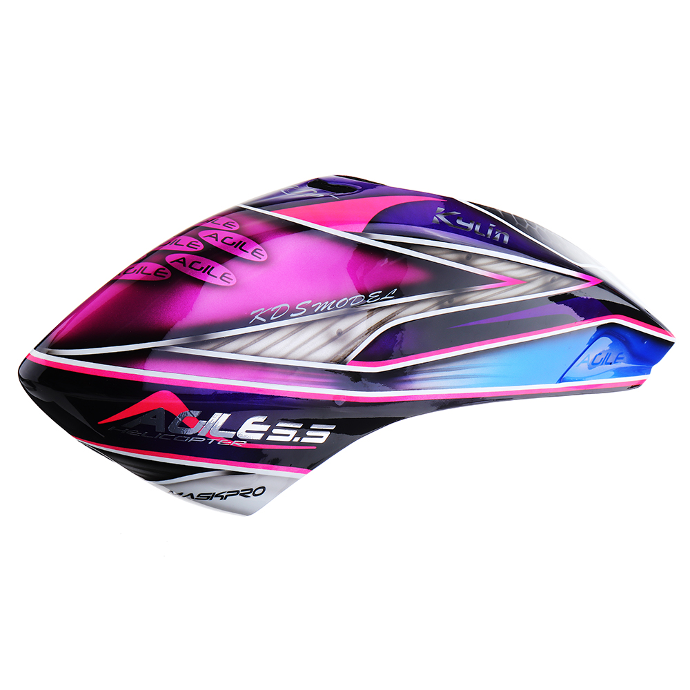 ZERO-AGILE55-04 AGILE5.5専用キャノピー 赤・紫・青