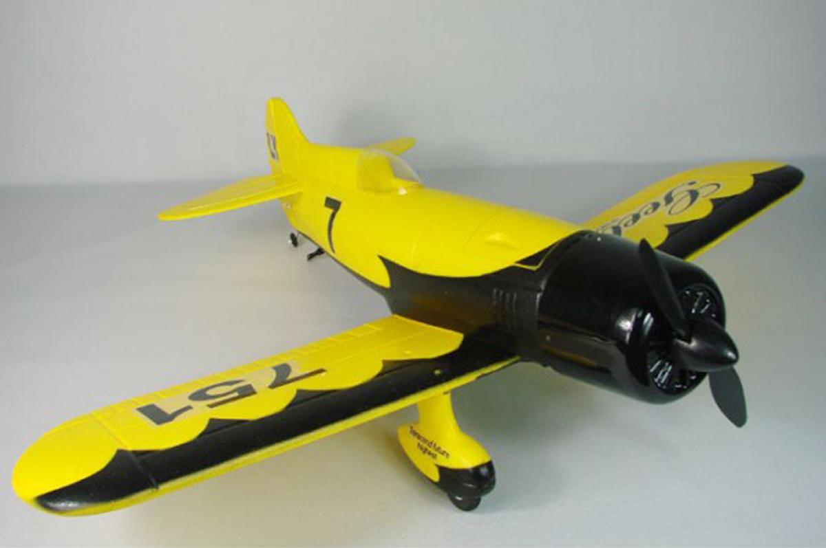 GEEBEE 飛行機 ARFブラシレスバージョン サーボアンプモータ組み立て済み