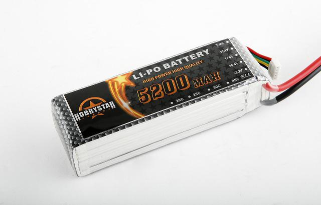 Lipo/5s-5200mah-30c