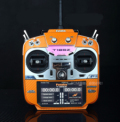 FUTABA 18SZ用 プロポスキン カーボン調 オレンジ (送料無料)