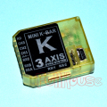 KBAR MINI AXIS フライバーレス 3軸ジャイロ