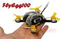 KINGKONG FlyEgg100 PNPキット 100mm MINI FPVドローン SF800受信機仕様 FUTABA S-FHSS対応