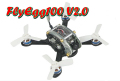 KINGKONG FlyEgg100 V2.0 PNPキット 100mm MINI FPVドローン SF800受信機仕様 FUTABA S-FHSS対応