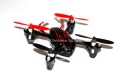 Hubsan H107C X4 Mini Quadcopter カメラ付 黒&赤 Mode.1