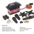 新商品割引キャンペーン DEKO HV7125 デジタル サーボ メタルギア 550以上RCヘリ用ラダーサーボ
