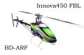 ARF-Innova450BD-FBL(フライバーレス・白緑キャノピー)