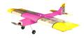 50E 3D 電動木製飛行機 ARFセット ピンク