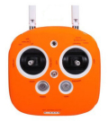 Inspire Phantom3送信機用 ソフトケース オレンジ