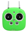 Inspire Phantom3送信機用 ソフトケース グリーン