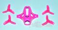 KINGKONG TiNY6用 キャノピー&ペラセット ピンク