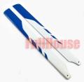 450サイズ用 メインローター グラスファイバー製 青/白