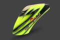 ZERO-AGILE72-02 AGILE7.2専用 キャノピー 緑・黒