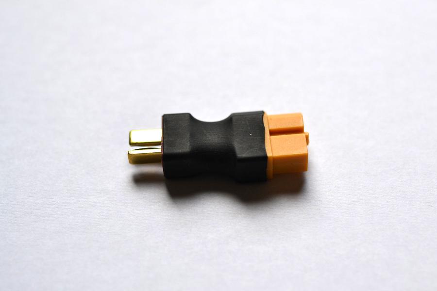 XT60メス⇔T型オス 変換コネクター